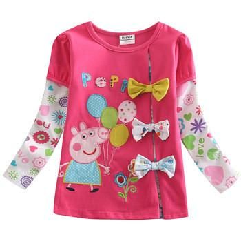 Tonights featured item is an adorable Peppa Pig long sleeve top. This top is unique in its design and will look absolutely adorable on your little one. Limited stock available in sizes 18-24mths and 2-3yrs for only $15.00. And on top of the amazing price, we have a new promotion, where you could be selected to receive a free Peppa Pig gift to go along with your order. Simply register your email address when ordering to go in the draw.