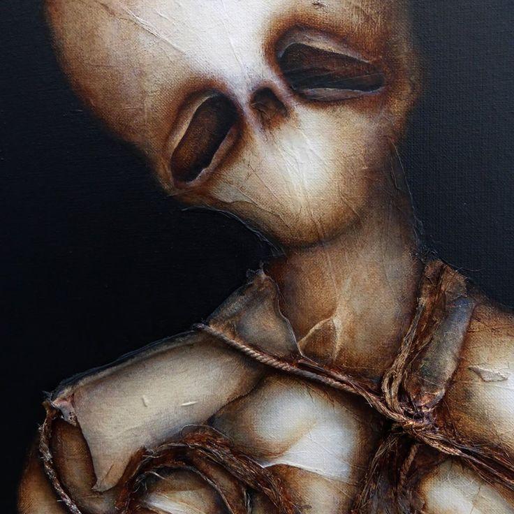 Le dernier dieu © Laurent Fièvre (détail)