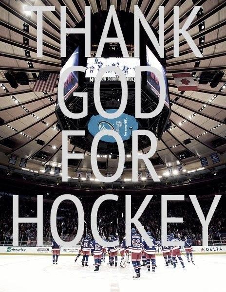 Thank you hockey