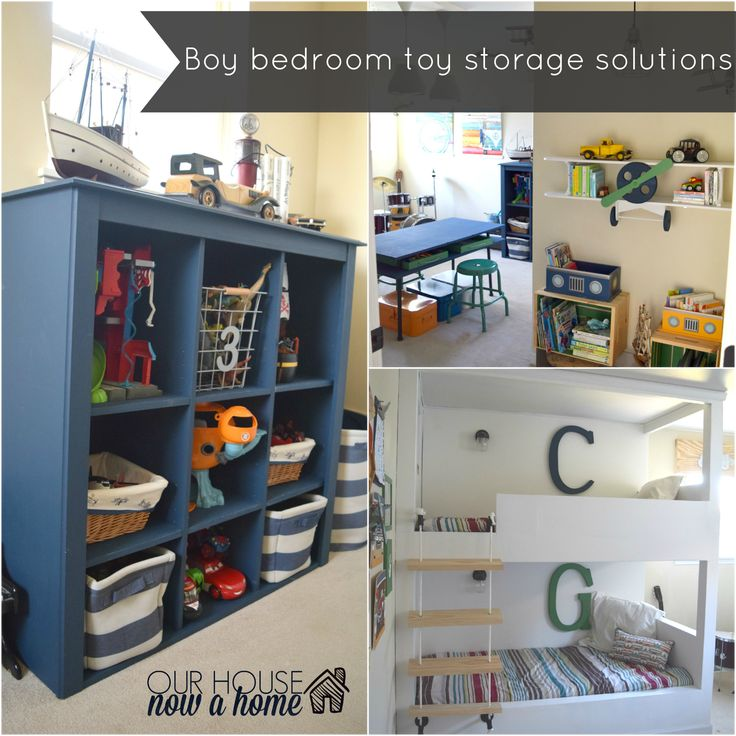 Best Boy Bedroom Toy Storage Solutions Bold Colors Toys And 400 x 300