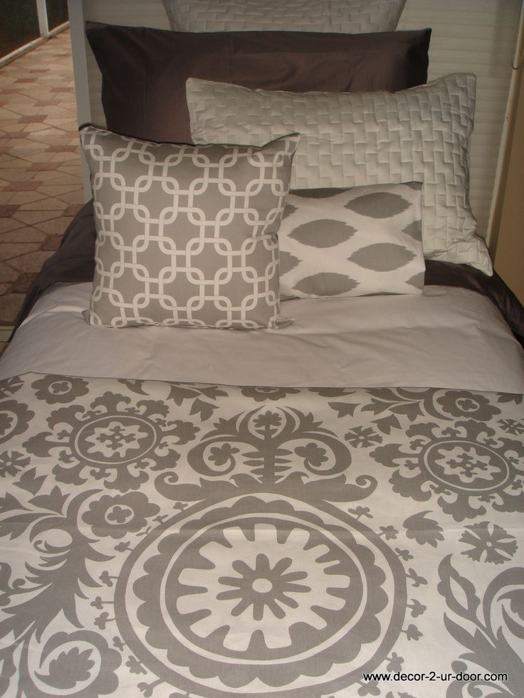 Grey Damask Teen Bedding Set Girls Rule And Boys Drool