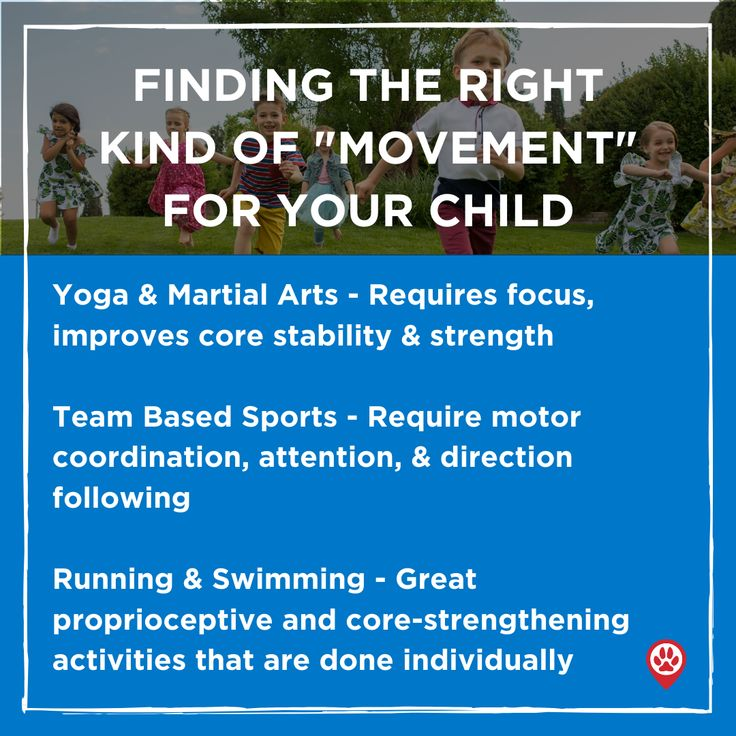 Finding the Right Kind of Movement For Your Child in 2020 ...