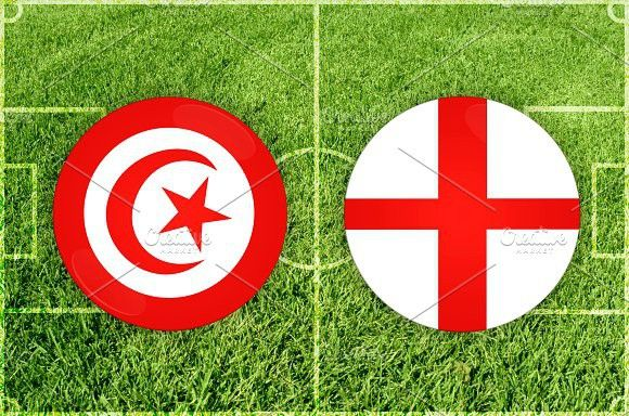 Tunis vs England football match. Europe #final #sphere