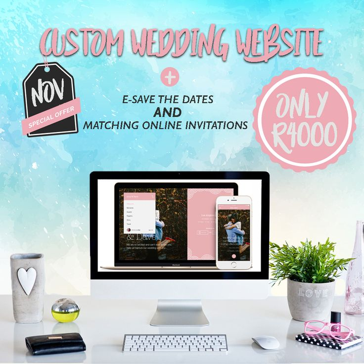 Custom Wedding Website + E-Save the Dates + Matching Online Invitations   #onlineinvitations #wedding #weddinginvitations #weddingwebsites #weddingideas #engaged #engagement #shiftevents #creativestudio #welovewhatwedo