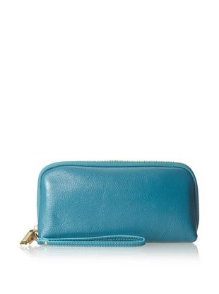 Zenith Women's Wristlet Clutch, Teal