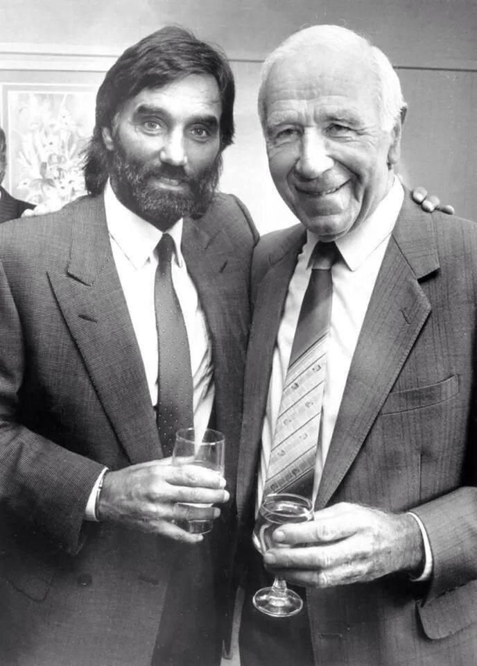 George Best & Sir Matt Busby