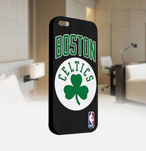 Boston Celtics NBA Basketball Lo - For IPhone 4 or 4S Black Case Cover