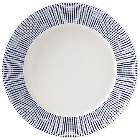 Buy Royal Doulton Pacific Porcelain Pasta Bowl, Dia.22.5cm, Blue Online at johnlewis.com