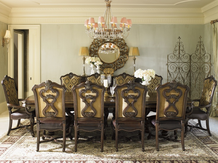Elitefurnituregallery #lexingtonhomebrands #ncfurniture Florentino Captivating Fine Dining Room Furniture Brands Decorating Design