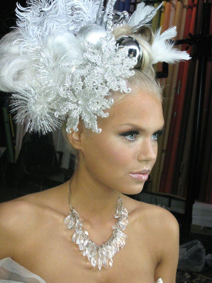 Snow Queen Makeup   snow queen hair