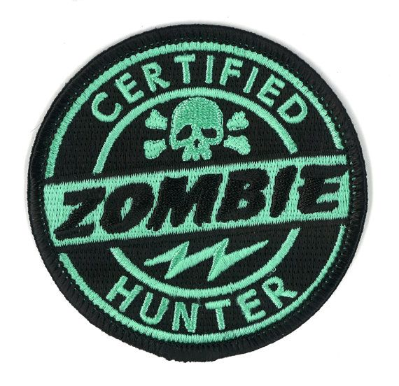 https://www.etsy.com/listing/182213350/certified-zombie-hunter-velcro-patch