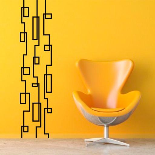 vinilo decorativo en forma de banda formado por lneas con pliegues para decorar la cheap