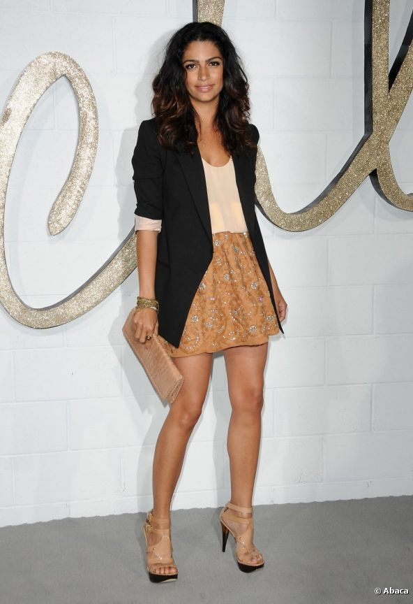 Camila Alves posed in Los Angeles, 23 April 2009.