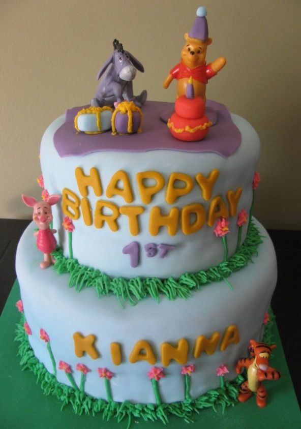 83 best Birthday cake images on Pinterest Birthday cakes Winnie