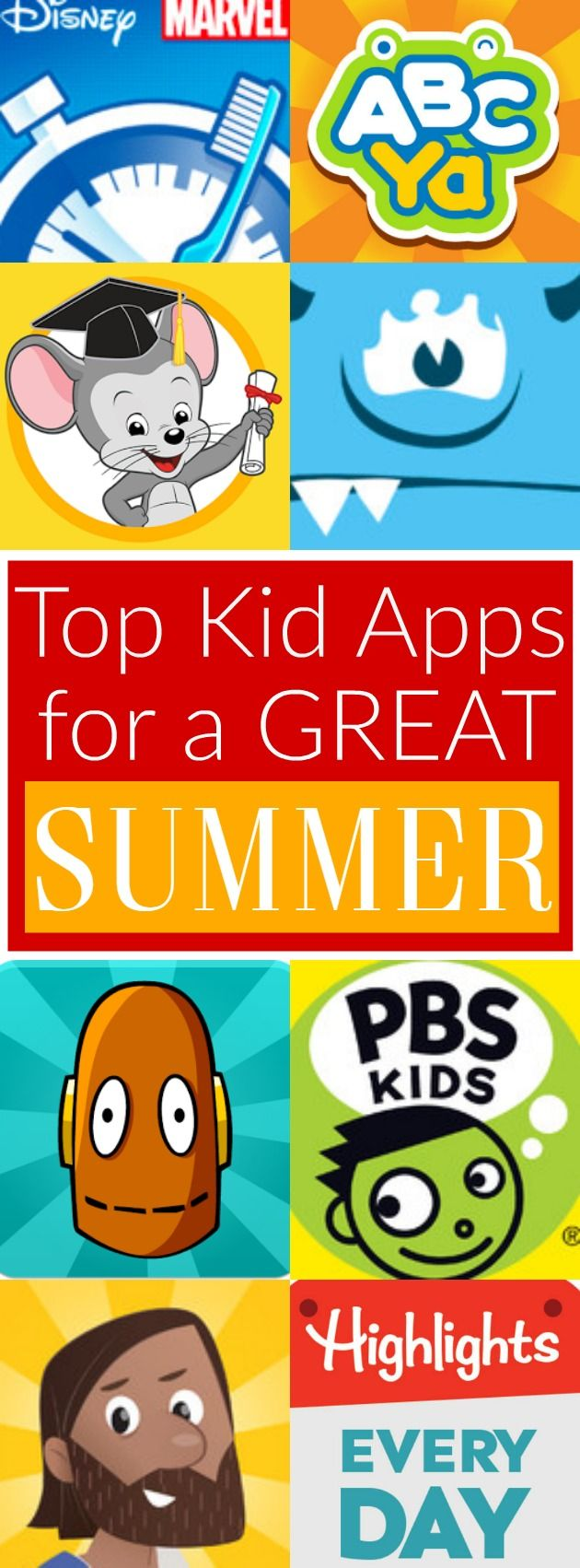 Top Kid Apps for a Great Summer