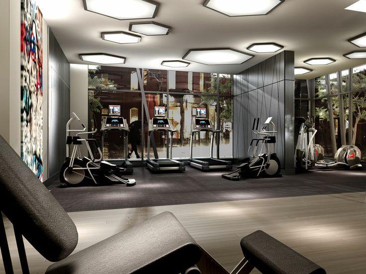 31 best PCJGym images on Pinterest Gym, Gym design and Arquitetura - fitnessstudio zuhause einrichten