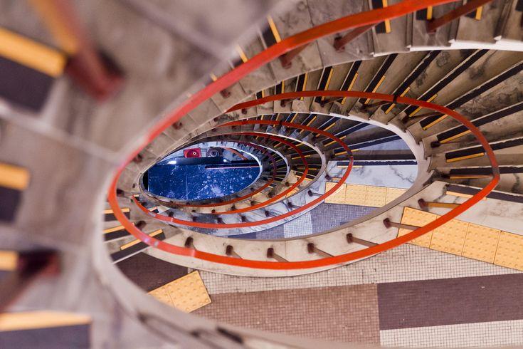 Escadaria da Galeria do Rock - Cidade em Fotos – Imagens de São Paulo