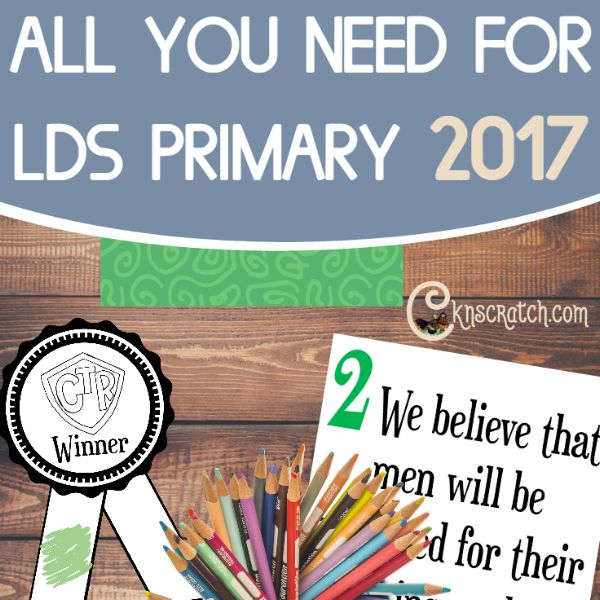 Excellent resources for LDS Primary 2017