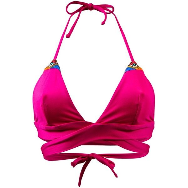 Banana Moon High Neck Swimsuit Banana Moon Fuschia Ninabell Trento... (810 MXN) ❤ liked on Polyvore featuring swimwear, pink, summer swimwear, summer swimsuits, summer bathing suits, pink swim suit and swimming costume
