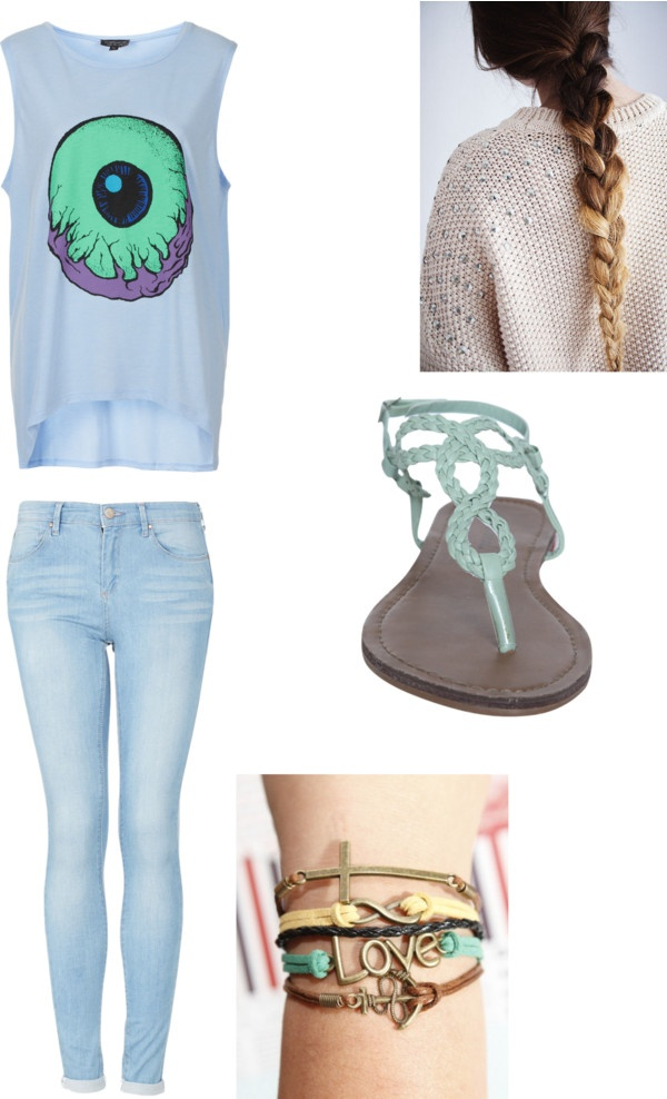 """""""Sunday detention-ari"""" by lmode-22201 ❤ liked on Polyvore"""