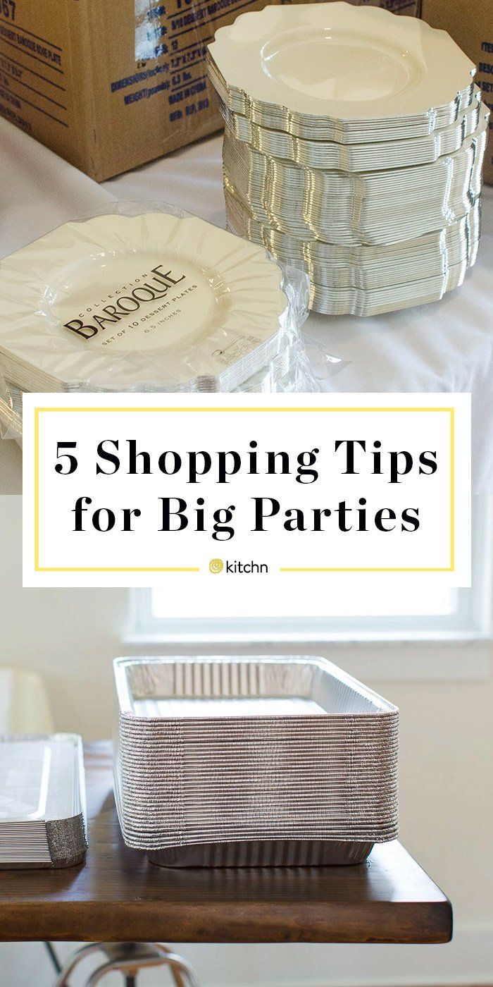 5 Shopping Tips for DIY Wedding Receptions and Other Big Parties. Planning on hosting some gatherings at home this summer and need ideas? Graduation parties (from high school or college), backyard bbqs, barbecues, potlucks, ANYTHING. Whether outdoor or indoor, at home or at a venue, these shopping tips and tricks will help keep you on a budget when buying food, decorations, and supplies -- whatever the themes.