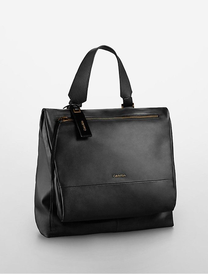 2bbd982185 Aster Leather Backpack on shopstyle.com | Places to Visit | Klein backpack, Calvin  klein handbags, Leather Backpack