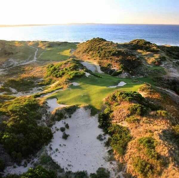 Golf course The Lost Farm, barnbougle, Tasmania