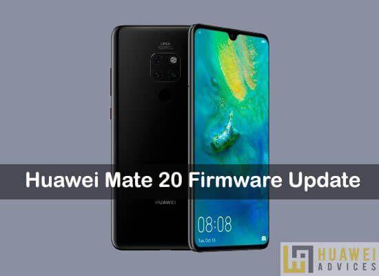 How to Update Huawei Mate 20 to latest stock firmware via EMUI