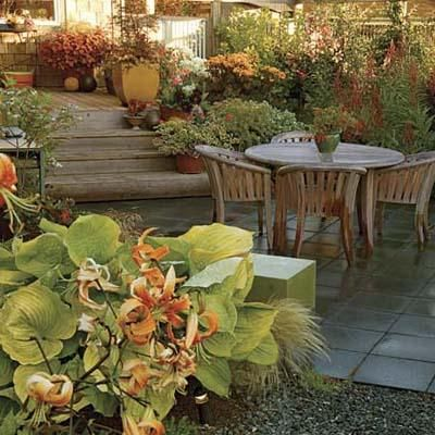 Even if your yard isn't the large space you wish you had, you can make the most of every foot!