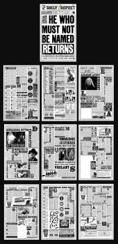 A Quibbler Replica version with page seen in the movie Harry Potter in the Half Blood Prince. If you want the Printable file just send me a note. to all who appreciate this with lovely comment, tha...
