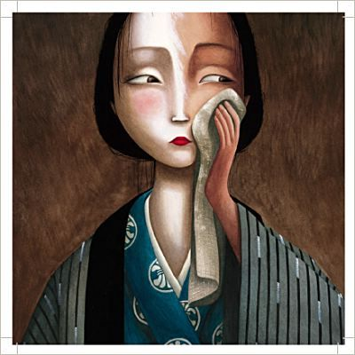 Les Amants Papillons (The Butterfly Lovers) illustrations by Benjamin Lacombe