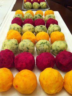 Rengarenk Patates Topları