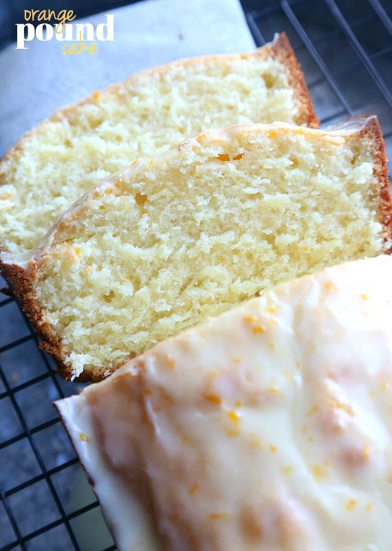 Orange Pound Cake..super soft and fluffy and delicious with the addition of fresh orange juice!