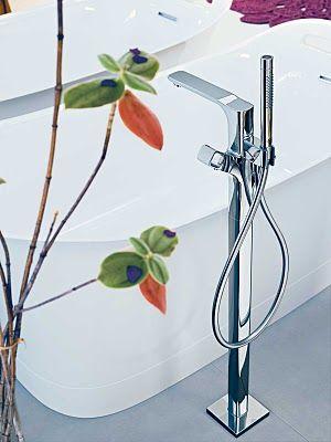 grifo-bañera-axor-urquiola-hansgrohe que podrás comprar en terraceramica.es #grifos #grifería #baños #diseño #arquitectura #terraceramica