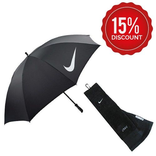 umbrella and towel