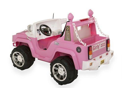 Venta COCHE INFANTIL con mando HUMMER rosa 12V RC., IndalChess.com Tienda de juguetes online y juegos de jardin