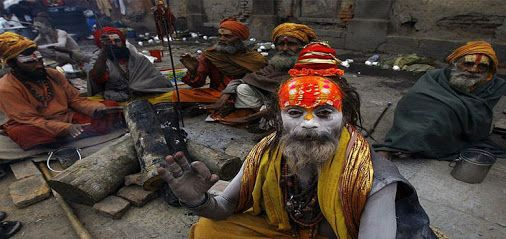 """""""Happy Shivaratri"""" Today is a #Maha #Shivaratri #Festival in #Nepal,During this #festival Countless #pilgrims including long haired mendicants and ash covered ascetics some of them quite naked pour visit the #temple of #Pashupati #Nath to pay their respects.#clearskytreks http://www.clearskytreks.com/maha-shivaratri-festival-2016/"""