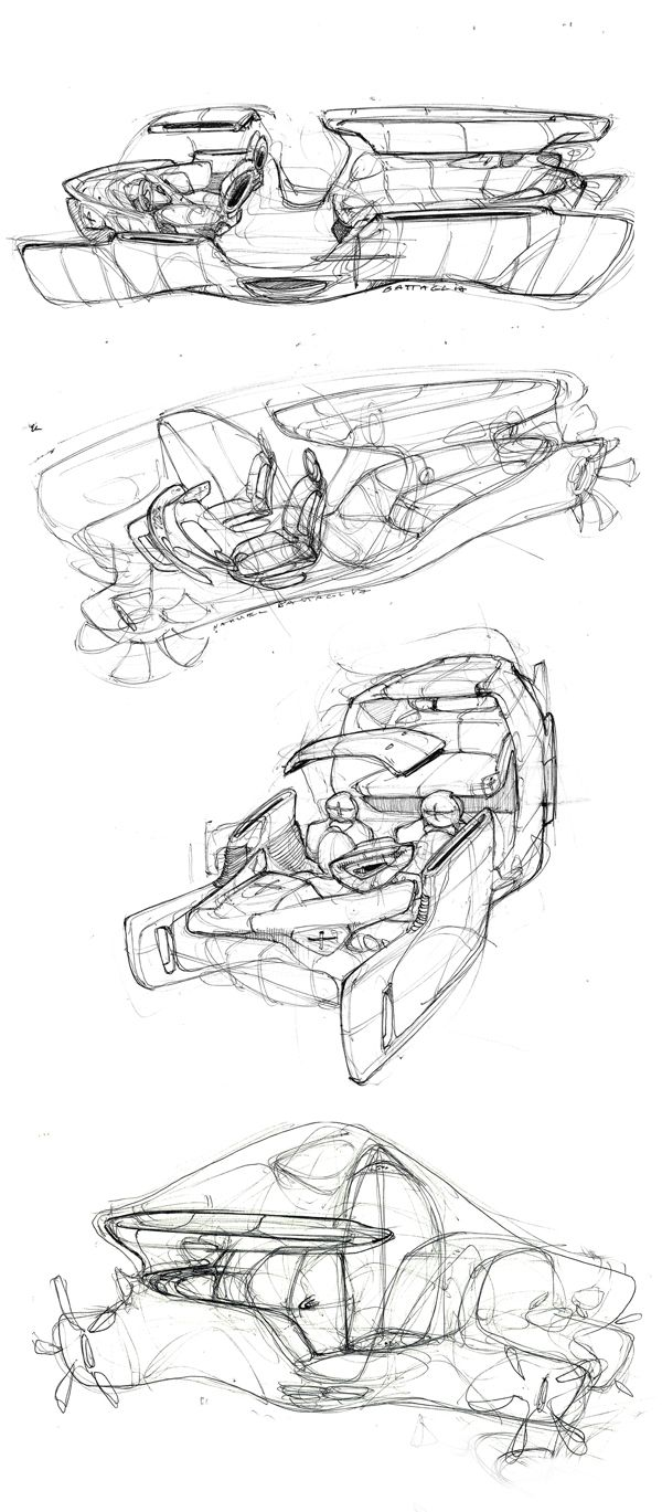 car sketches