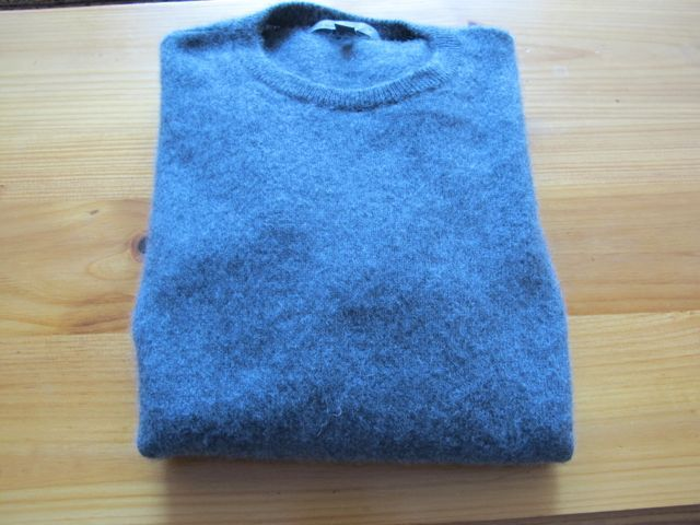 Restoring a shrunken sweater frugal living and money for How to stretch wool that has shrunk