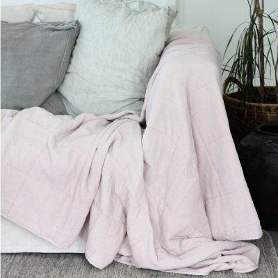 Cozy Room pläd ljusrosa