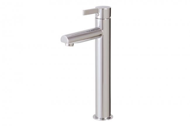 Tall lavatory faucet by Aquabrass / Blade Collection