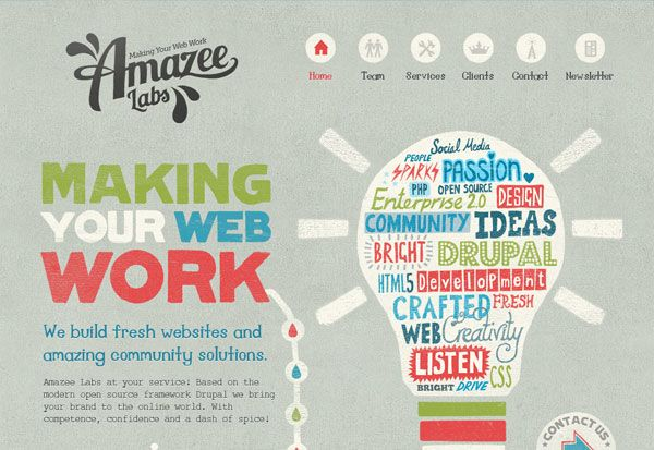 Visual Inspiration: 30 Excellent Colorful Web Designs