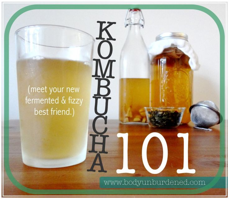 Learn what kombucha is, its health benefits, and how to brew it.