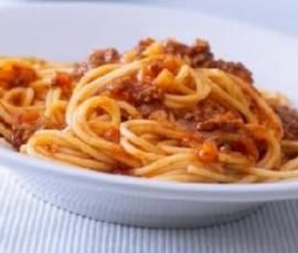 Recipe CHUNKIER SPAGHETTI BOLOGNESE by Trish B - Recipe of category Main dishes - meat