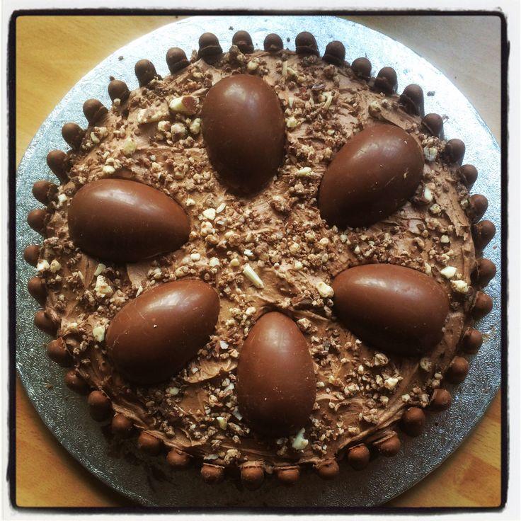Kinder chocolate cake!
