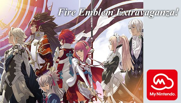 Nintendo PR - Fire Emblem rewards from My Nintendo   Looking for some adventure in your life? Use your Nintendo account and redeem points to score 30% off these classic Fire Emblem games:  30% discount on Fire Emblem Fates: Birthright (Nintendo 3DS) 30% discount on Fire Emblem: The Sacred Stones (Wii U) 30% discount on Fire Emblem: Shadow Dragon (Wii U) You can also redeem points to get a Fire Emblem Echoes: Shadows of Valentia digital wallpaper for your smartphone or PC.  Are you new to the…