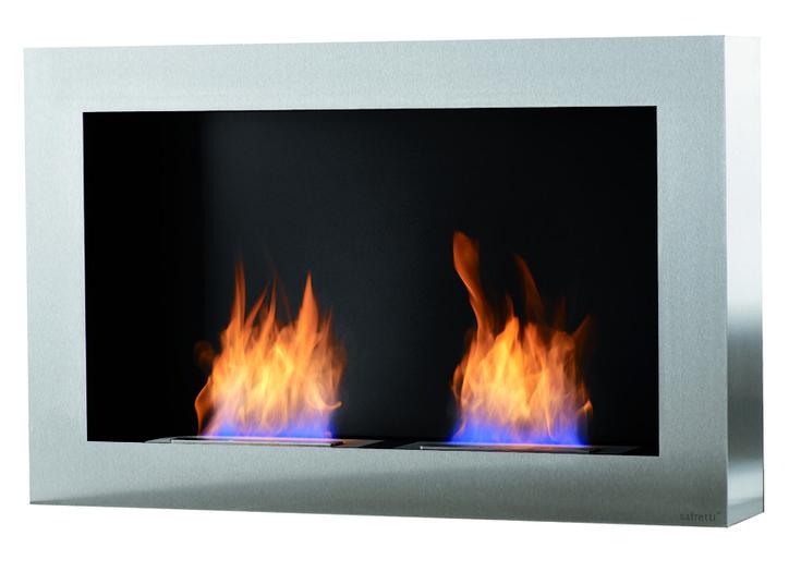 Cubico DL Safretti Fireplace Collection - #Fireplace #InteriorDesign #Fire #Safretti
