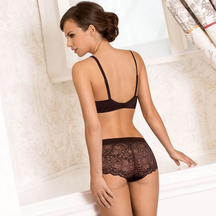 Tami beautiful brown lace lingerie set by Gorteks Lingerie