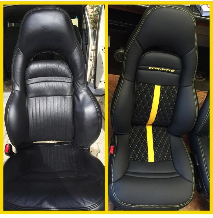 corvette yellow and black interior seats diamond stitch auto addiction interiors pinterest. Black Bedroom Furniture Sets. Home Design Ideas