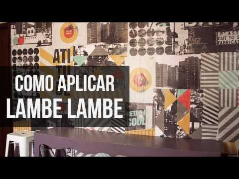 Como aplicar Lambe Lambe - Homens da Casa